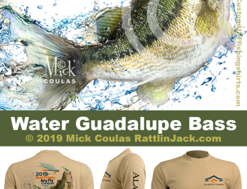 Custom UPF Fishing Shirts Guadalupe Water Bass Fish Gallery