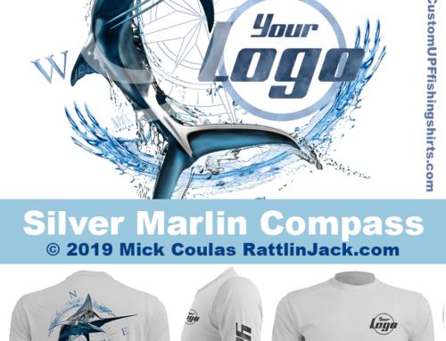 Custom UPF Fishing Shirts Silver Marlin Fish Gallery