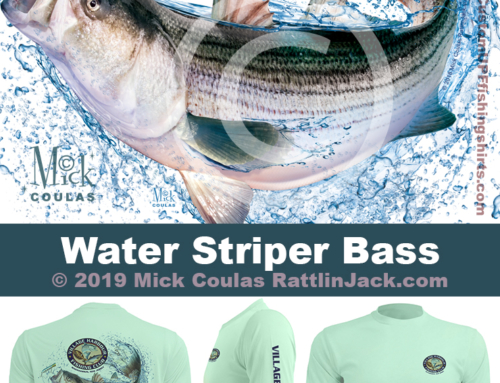 Custom UPF Fishing Shirts water striper bass Fish Gallery
