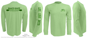 Harmonized-color-custom-upf-shirts-half-back-sample-lime