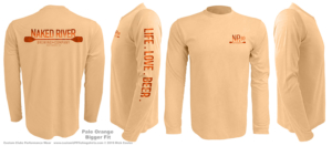 Harmonized-color-custom-upf-shirts-half-back-sample-pale-orange