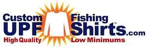 Custom UPF Fishing Shirts Logo